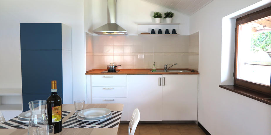 Le Onde 1 - Kitchened and dinign area