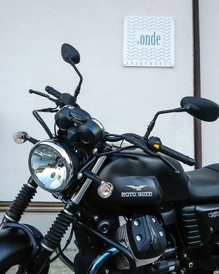 Bikers are welcome! @ Le Onde Apartments