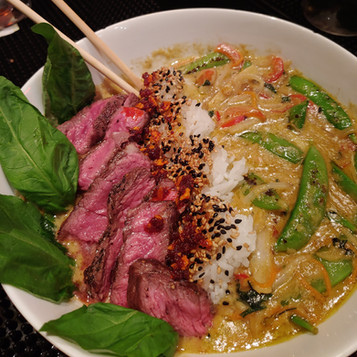 Green Curry with Halal Ribeye