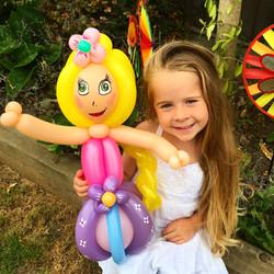 Princess balloon model