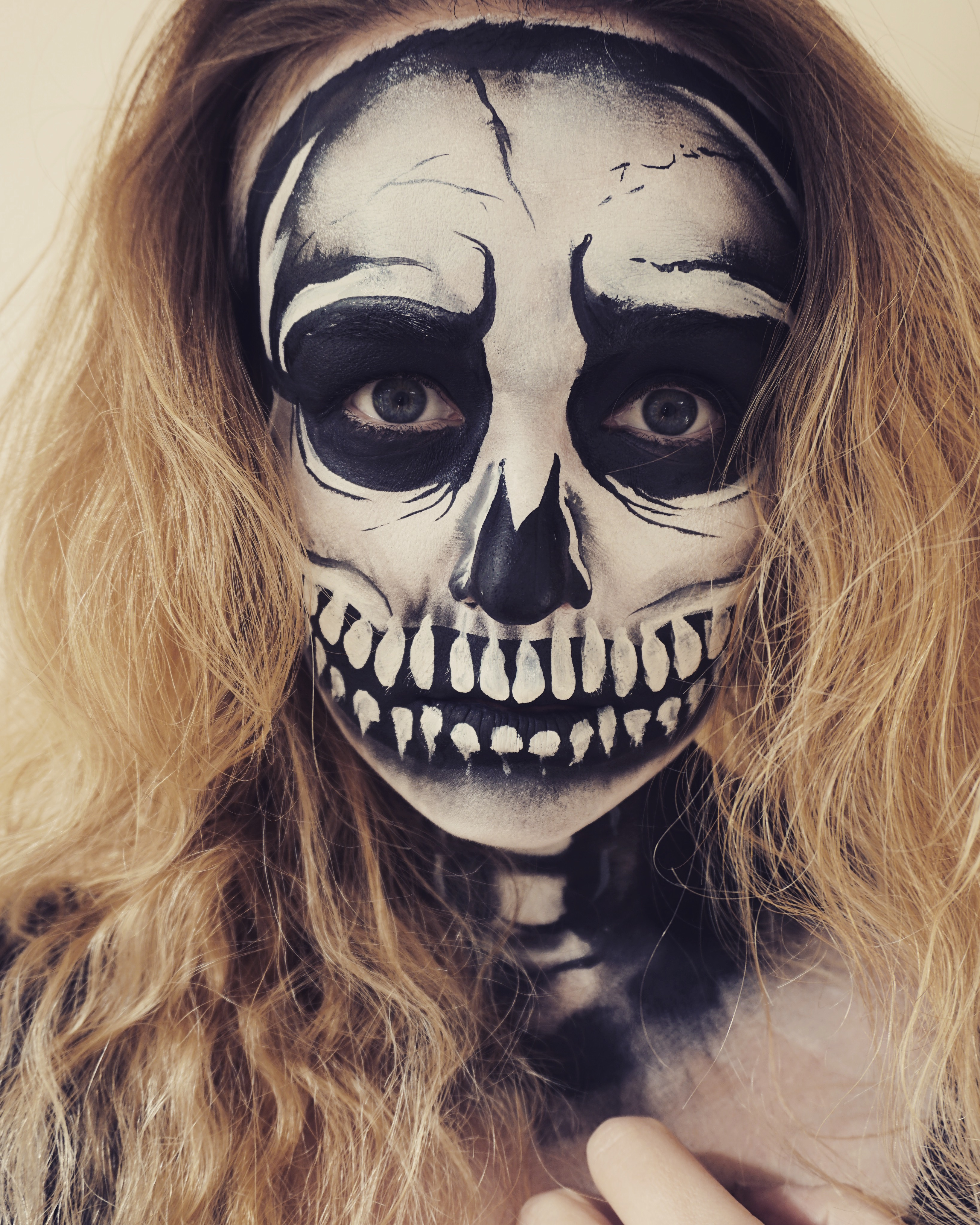 Skull adult Face Paint