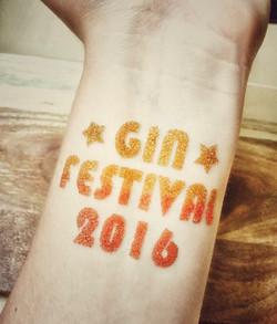 Glitter Tattoo - Gin Festival