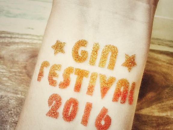 Gin festival tattoo