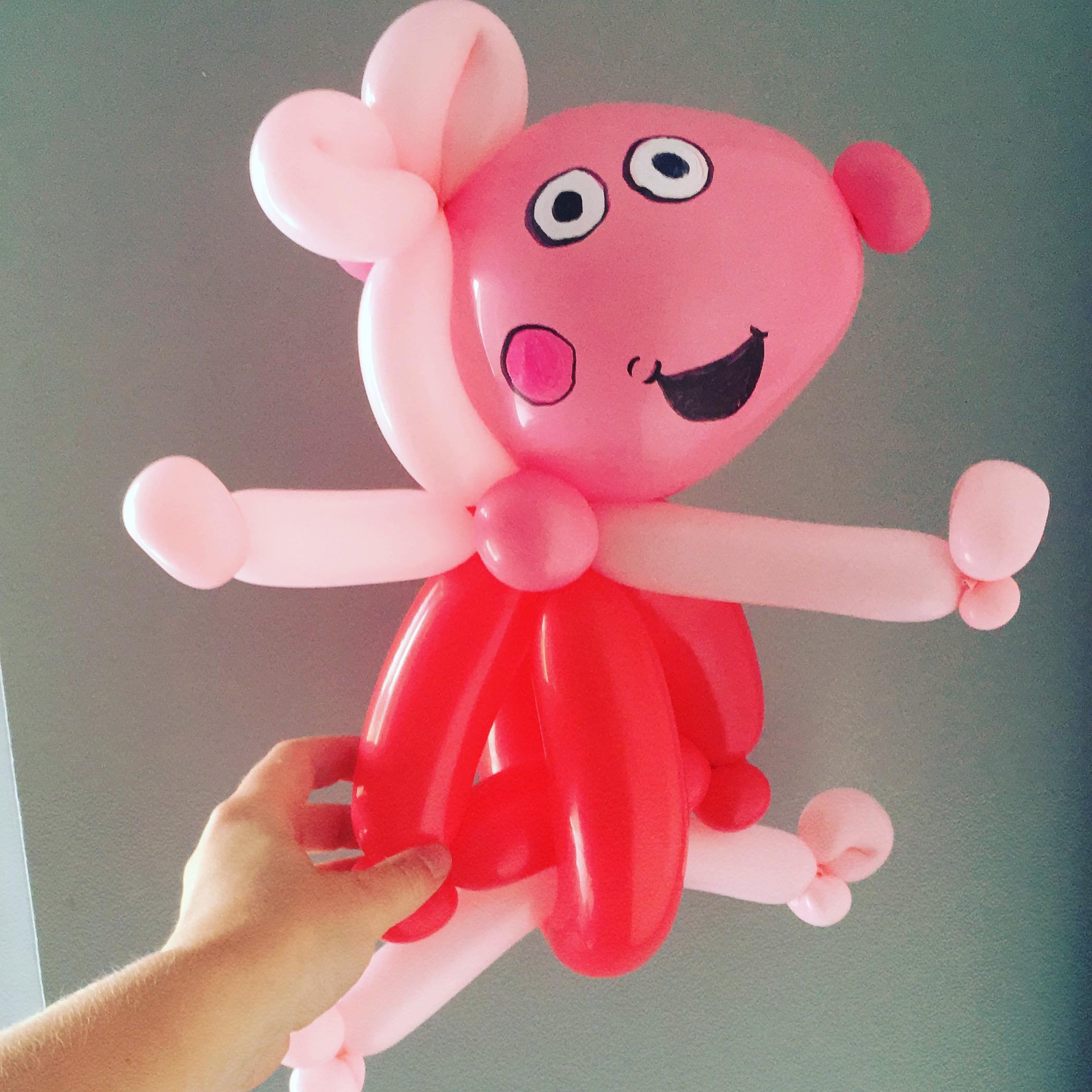 Peppa Pig balloon model
