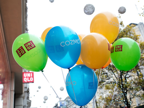 Balloons in Oxford Street