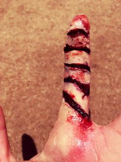 SFX gruesome finger