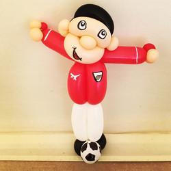 Arsenal football balloon model
