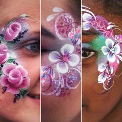 Beautiful festival face paint