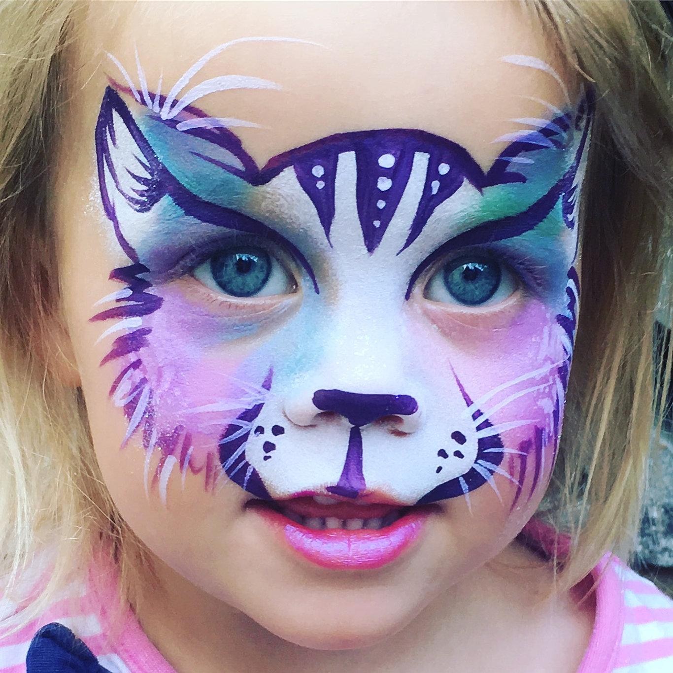 Uncategorized Cat Paint Face face painting emilys entertainment candy cat paint