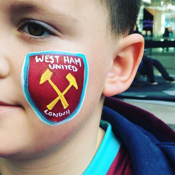 West Ham United Face Paint