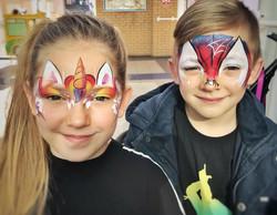 Children's face paint