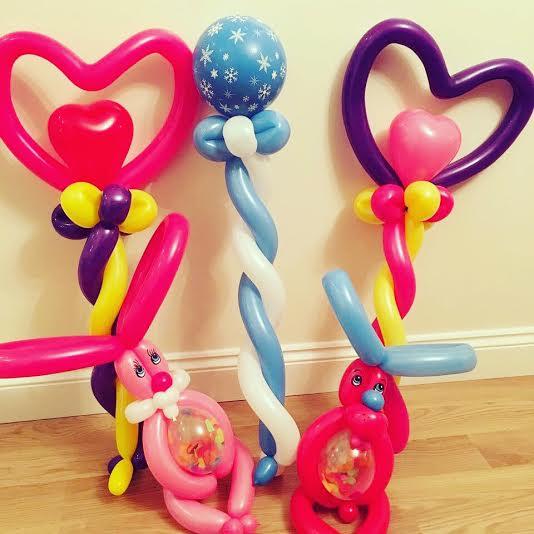 Festival balloon animals