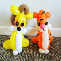 Tiger and Lion Balloon model