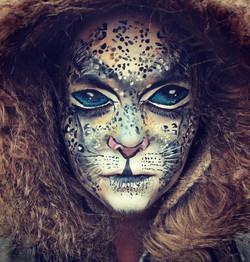 Snow Leopard paint