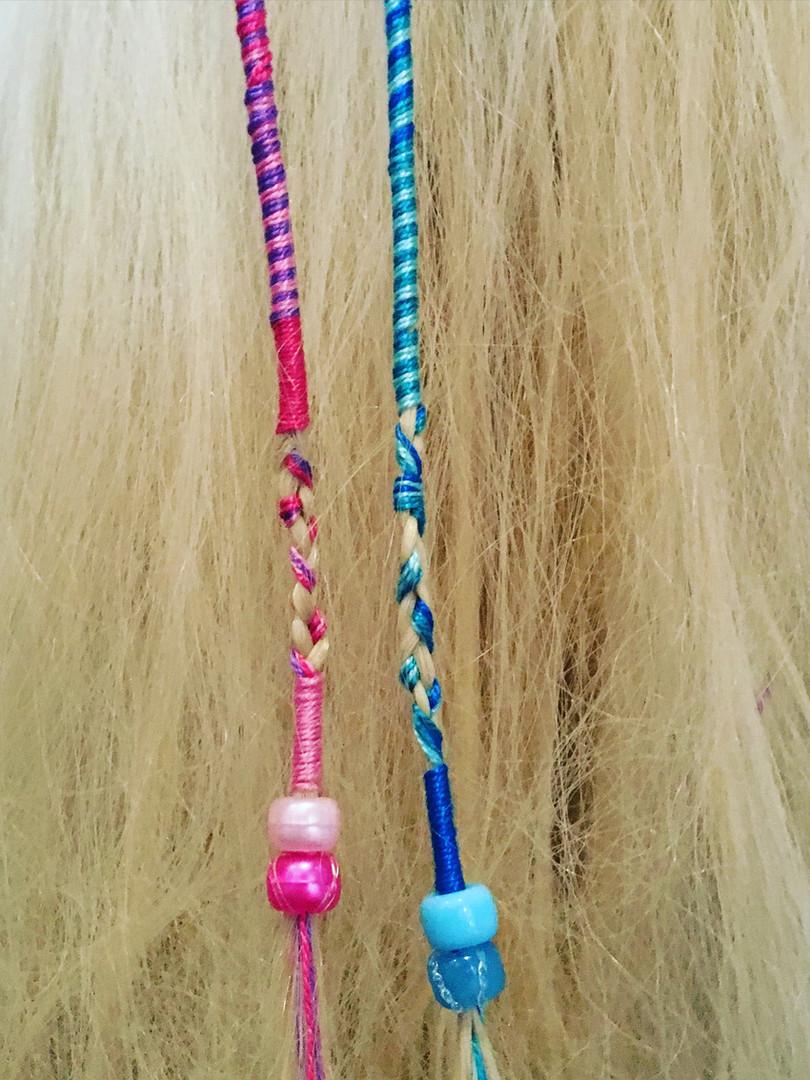 Beautiful hair braiding