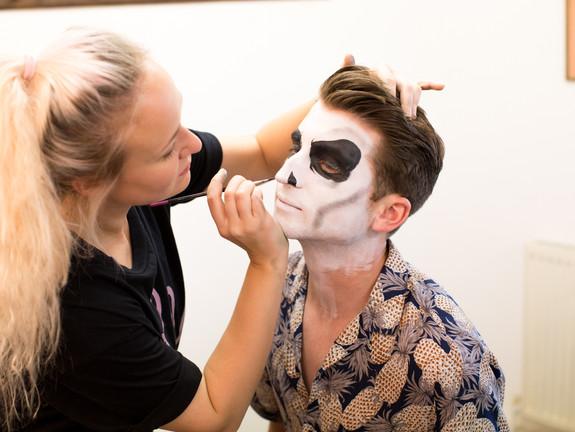 Photo shoot - Halloween make up