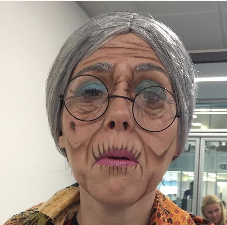 Ageing make up