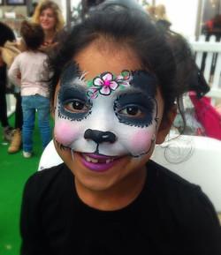 Pretty Panda Face Paint