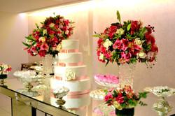 decor casamento rosa pink
