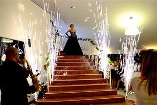Escada para 15 anos