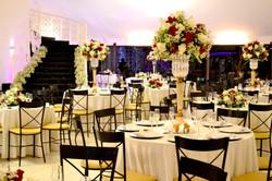 decoraçã casamento vermelho e branco