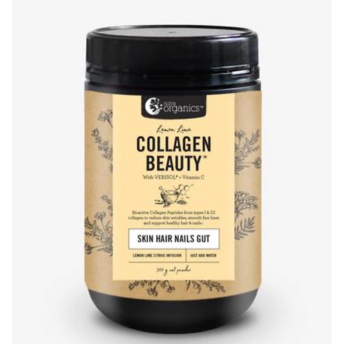 Collagen beauty for hair skin & nails.  Lemon lime flavour