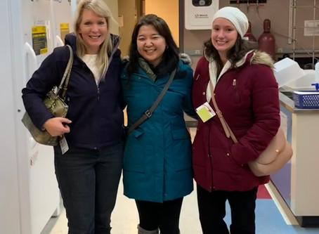 Susan Richardson & Hannah Liberatore Visit Our Lab!