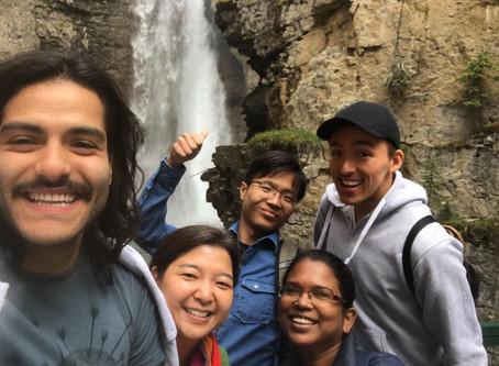 Group Hike in Banff