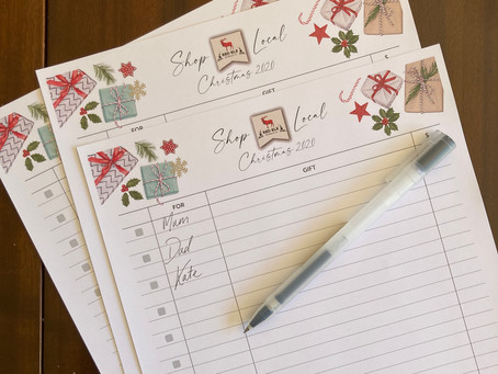 Christmas Shopping List Download