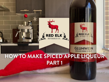 How to make Spiced Apple Liqueur