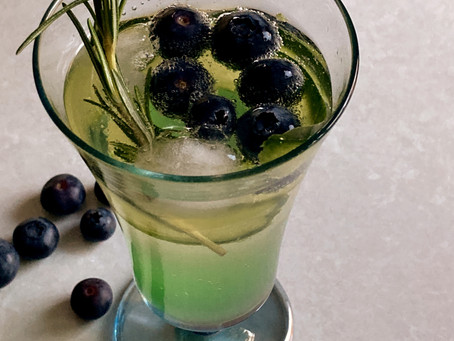 Green Ginger Wine Cocktail