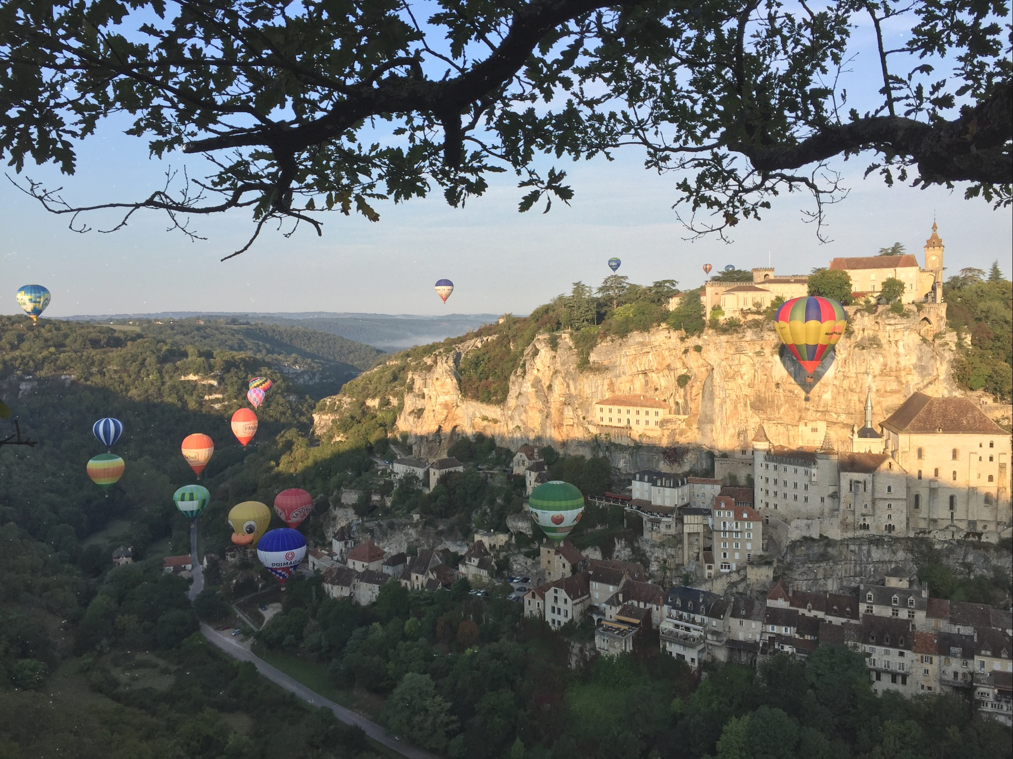 Rocamadour, Balloon Festival 2017