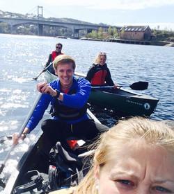 Canoe Trip, Norway 2015
