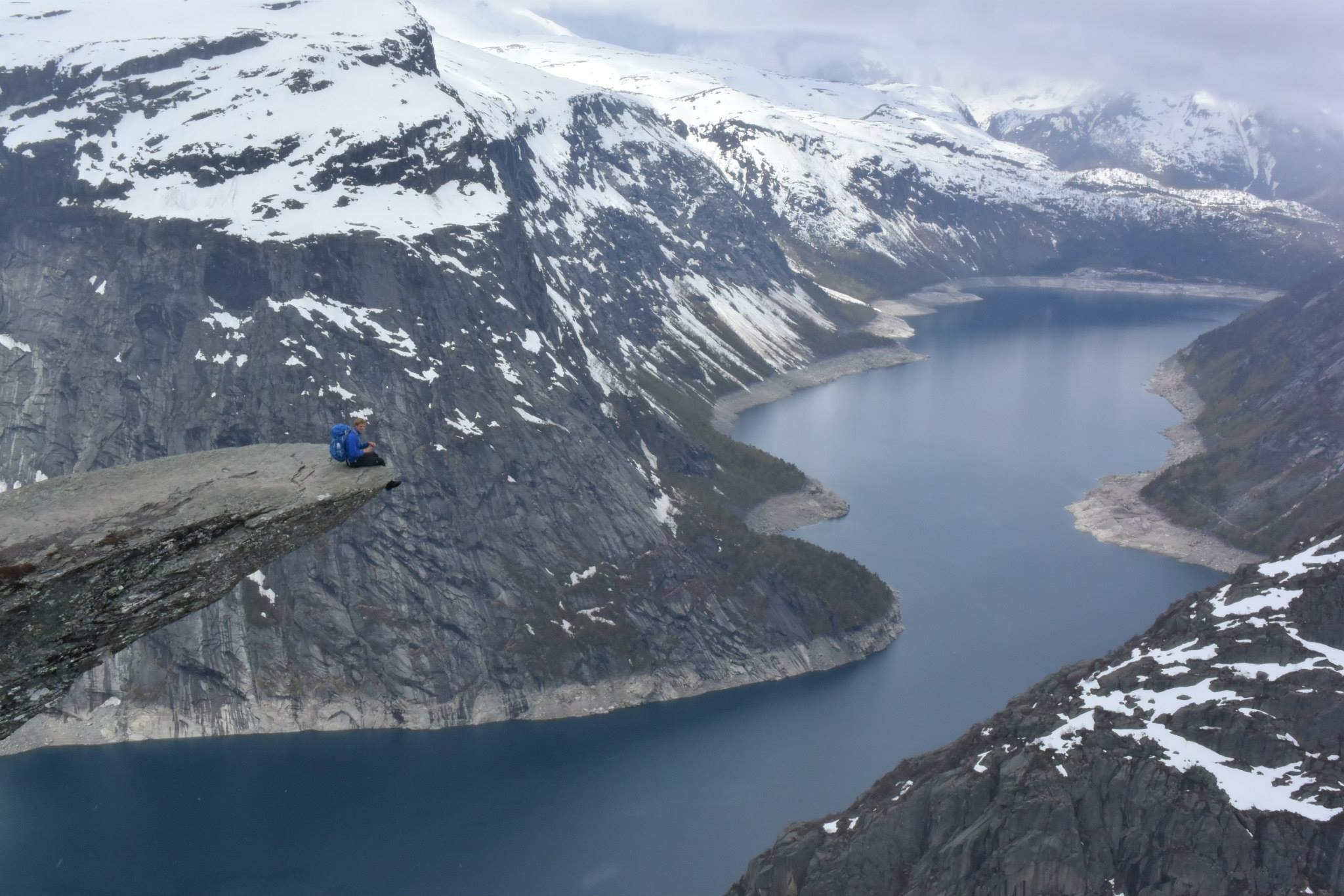 Trolltunga Norway 2015