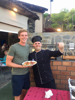 Ste and Issac, Head Chef