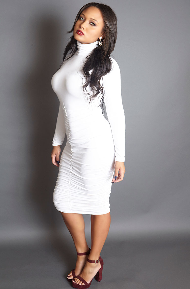 Love-Sick-Ruched-Midi-Dress-white-