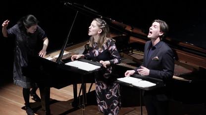 Hannover 2020 mit Josefine Mindus (Sopran) und Karl Söderström (Bariton) ©Ghazaleh Ghazanfari
