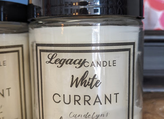 Legacy Candle - White Currant