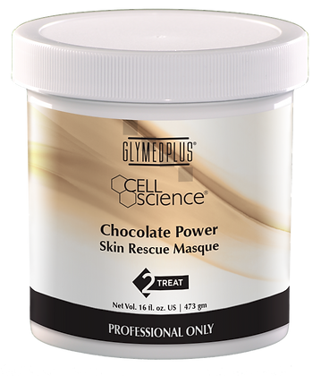 Chocolate Power Skin Rescue Masque Back Bar Size