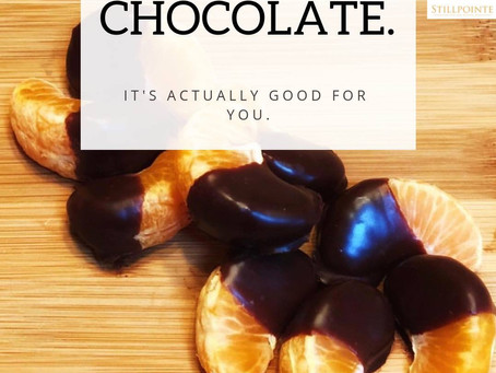 Don't Feel Guilty About Eating That Dark Chocolate