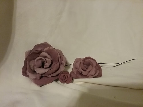 Leather Roses  small