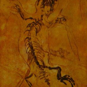 Yabeinosaurus in Amber
