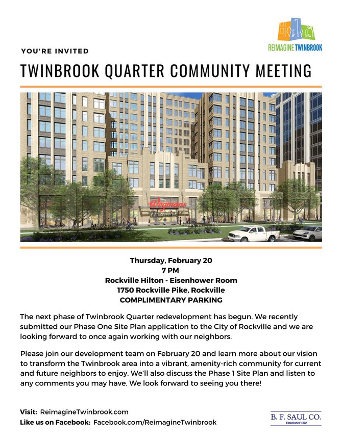 Upcoming Community Meeting Scheduled for February 20