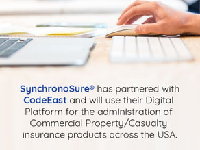 Synchrono Group Inc. selects CodeEast Digital Insurance Platform.