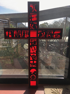 Stations of the Cross - (Relief against