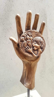 Hand with Children (Courage) Mercy Colle