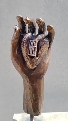 Hand with Door (Compassion) Mercy Colleg