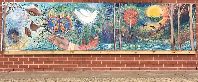 Spirit Creation Mural - Mother Teresa Pr