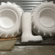 Coated in class1 FR polyurethane resin
