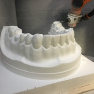 Cutting our teeth from high density poly!